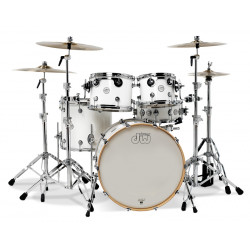 DW Design Series 5-Piece Shell Pack (Gloss White)