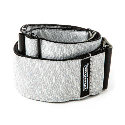 DUNLOP D6712 Jacquard Cube Hatch Light Grey Strap