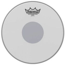 "REMO CS 10"" COATED BLACK DOT"