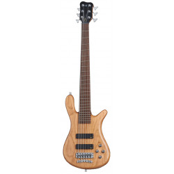 WARWICK Teambuilt Pro Series Streamer LX, 6-String (Natural Transparent Satin)