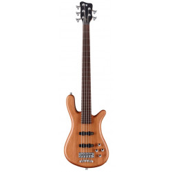 WARWICK Teambuilt Pro Series Streamer LX, 5-String (Natural Transparent Satin)