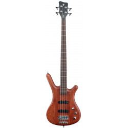 WARWICK Teambuilt Pro Series Corvette Bubinga, 4-String, A/A (Natural Transparent Satin)