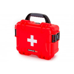 NANUK CASE 904 FIRST AID LOGO RED