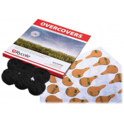 Rycote Overcovers Black - 30 х Stickies & 6 х Fur Discs