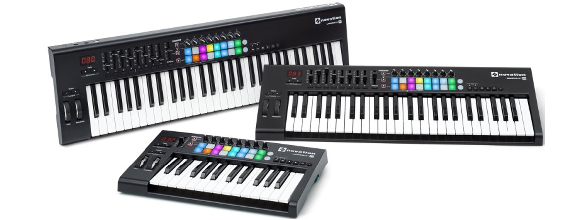 Снижение цен на USB/iOS MIDI контроллеры NOVATION LAUNCHKEY MK2